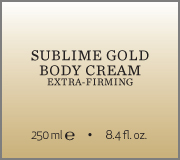 Sublime Gold Body Cream name