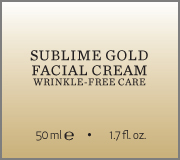 Sublime Gold Facial Cream name