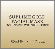 Sublime Gold Facial Mask name